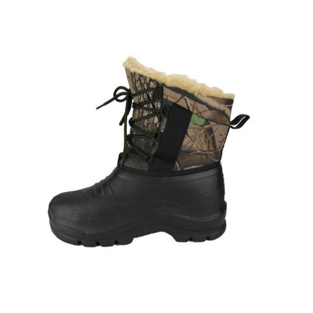 Дутики ЭВА утепленные камуфлированные со шнурками