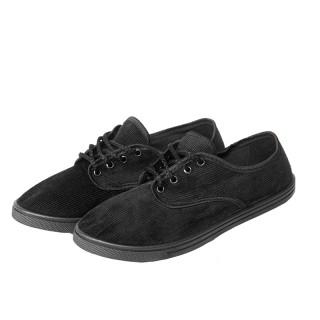 Туфли вельветовые на шнурках ( арт. 1-23-1)