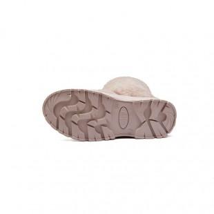 Ботинки войлочные женские с липучкой