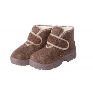 Ботинки войлочные женские с липучкой (арт.8-49-4П)